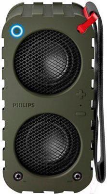 Портативная колонка Philips SB5200K/10 - вид спереди