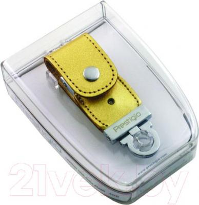 Usb flash накопитель Prestigio 16GB Flash Drive NAND (PLDF16GBSIGOLDT3) - упаковка