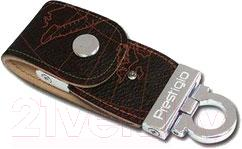 Usb flash накопитель Prestigio Leather Flash Drive Black 8 Gb (PLDF08MPBRA) - общий вид