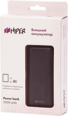 Портативное зарядное устройство Hiper SP5000 (черный) - в упаковке