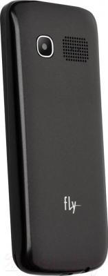 Мобильный телефон Fly TS111 (черный) - вид сзади
