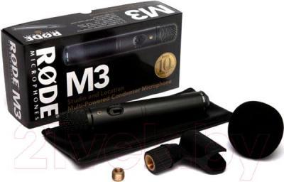 Микрофон Rode M3 - комплектация