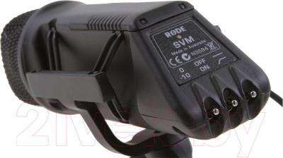 Микрофон Rode Stereo VideoMic X/Y Stereo - вид сзади
