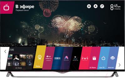 Телевизор LG 55UB850V - общий вид