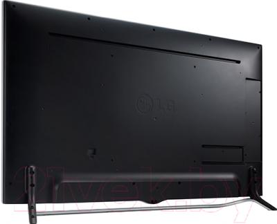 Телевизор LG 55UB850V - вид сзади
