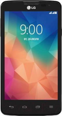 Смартфон LG L60 Dual / X145 (черный) - общий вид