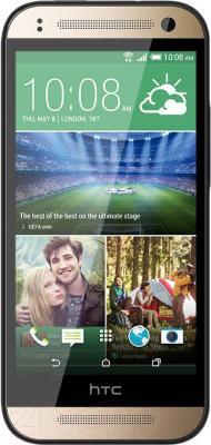 Смартфон HTC One Mini 2 (золотой) - общий вид