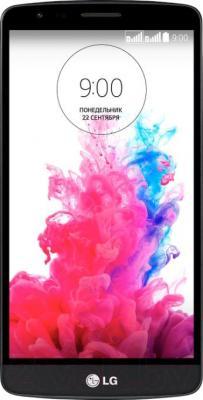 Смартфон LG G3 Stylus Dual / D690 (черный) - общий вид