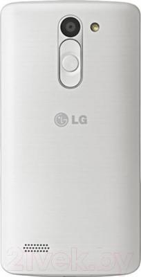 Смартфон LG L80+ Dual L Bello / D335 (черно-белый) - вид сзади