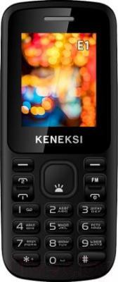 Мобильный телефон Keneksi E1 (черный) - общий вид