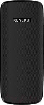 Мобильный телефон Keneksi E1 (черный) - вид сзади
