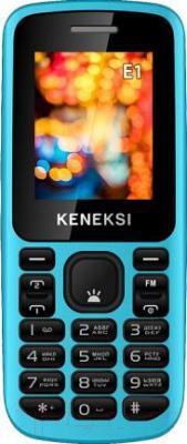 Мобильный телефон Keneksi E1 (синий) - общий вид