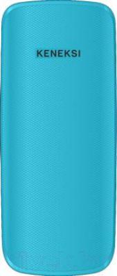 Мобильный телефон Keneksi E1 (синий) - вид сзади