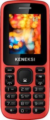 Мобильный телефон Keneksi E1 (красный) - общий вид