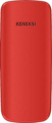 Мобильный телефон Keneksi E1 (красный) - вид сзади