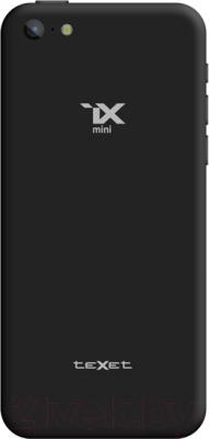 Смартфон TeXet iX-mini / TM-4182 (черный) - вид сзади