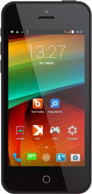 Смартфон TeXet iX-mini / TM-4182 (черный) - общий вид