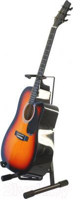Гитарная стойка Athletic Git-6A - с гитарой