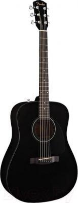 Акустическая гитара Fender CD-60 (Black) - общий вид