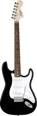 Электрогитара Fender Squier Affinity Stratocaster Maple Black - общий вид