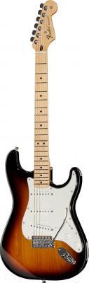 Электрогитара Fender Standard Stratocaster MN (Brown) - общий вид