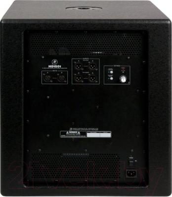 Акустическая система Mackie HD1501 - вид сзади