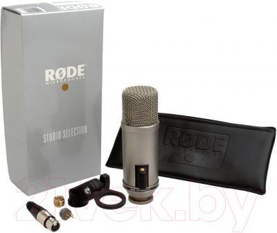 Микрофон Rode Broadcaster - комплектация