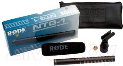 Микрофон Rode NTG1 - с аксессуарами