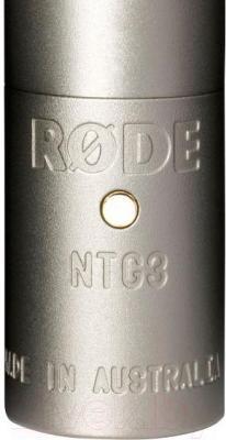 Микрофон Rode NTG3 - крупный план
