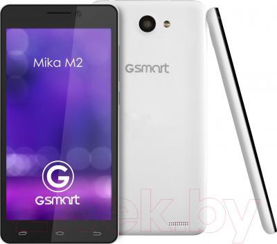 Смартфон Gigabyte GSmart Mika M2 (Black-White) - с задней и боковой панелями