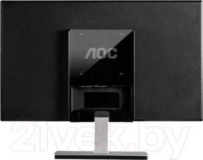 Монитор AOC I2276VW - вид сзади