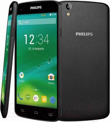 Смартфон Philips I908 - обзор панелей