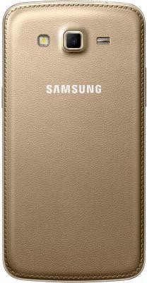 Смартфон Samsung Galaxy Grand 2 / G7102 (золотой) - вид сзади