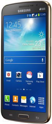 Смартфон Samsung Galaxy Grand 2 / G7102 (золотой) - общий вид