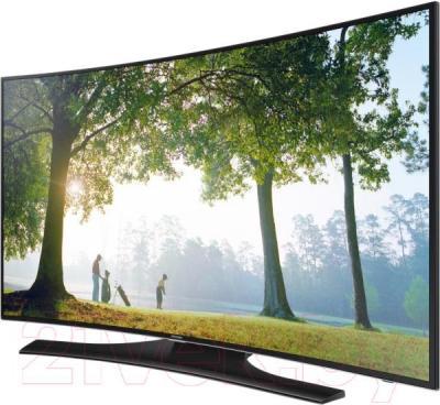Телевизор Samsung UE48H6800AU - вполоборота
