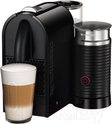 Капсульная кофеварка DeLonghi EN 210.BAE - регулируемая высота дозатора/подставки