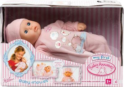 Кукла-младенец Zapf Creation Baby Annabell Моя первая кукла (792520) - упаковка