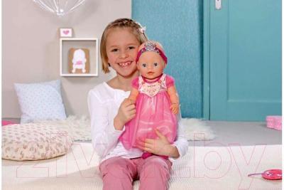 Кукла-младенец Zapf Creation Baby Born Принцесса (819180) - ребенок с игрушкой