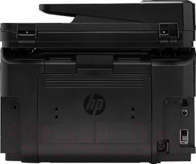 МФУ HP LaserJet Pro MFP M225dw (CF485A) - вид сзади
