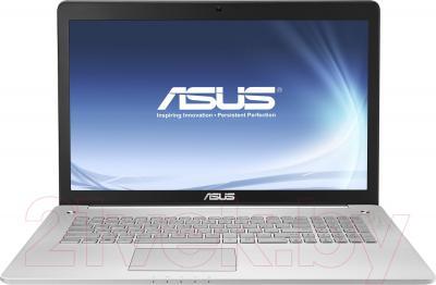 Ноутбук Asus N750JK-T4164D - фронтальный вид