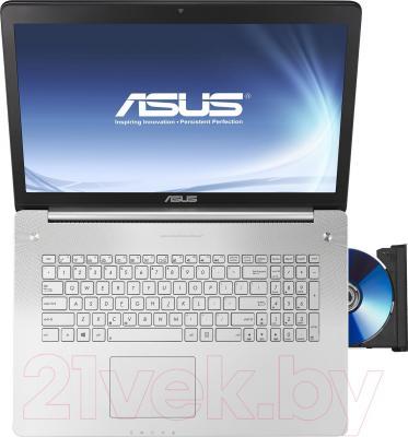 Ноутбук Asus N750JK-T4164D - вид сверху