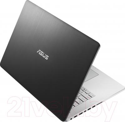 Ноутбук Asus N750JK-T4164D - вид сзади
