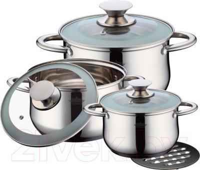 Набор кухонной посуды Peterhof PH-15728 - фронтальный вид