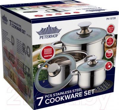 Набор кухонной посуды Peterhof PH-15728 - коробка