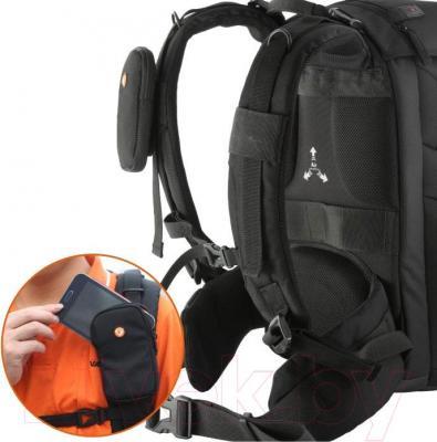 Рюкзак для фотоаппарата Vanguard The Heralder 46 - отделение для телефона