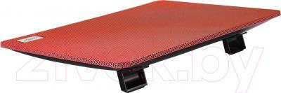 Подставка для ноутбука Deepcool N1 (красный) - вид сзади