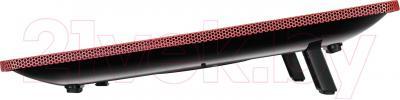Подставка для ноутбука Deepcool N1 (красный) - вид сбоку