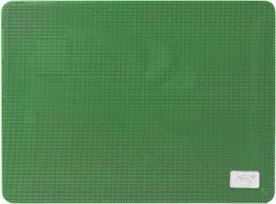 Подставка для ноутбука Deepcool N1 (зеленый) - фронтальный вид