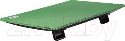 Подставка для ноутбука Deepcool N1 (зеленый) - вид сзади