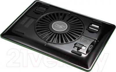 Подставка для ноутбука Deepcool N1 (зеленый) - вид снизу